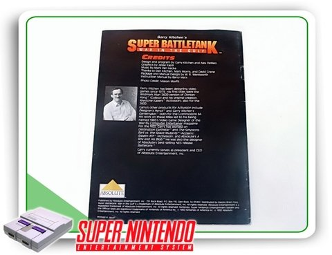 Manual Super Battletank Original Snes Super Nintendo - comprar online