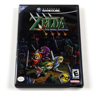 The Legend Of Zelda Four Swords Adventures Original Gamecube