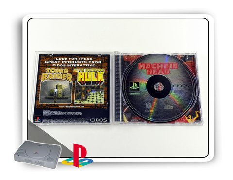 Machine Head Original Playstation 1 Ps1 - comprar online