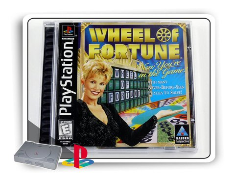 Wheel Of Fortune Original Ps1 Playstation 1