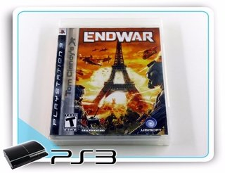 Tom Clancys Endwar Playstation 3 Original Ps3