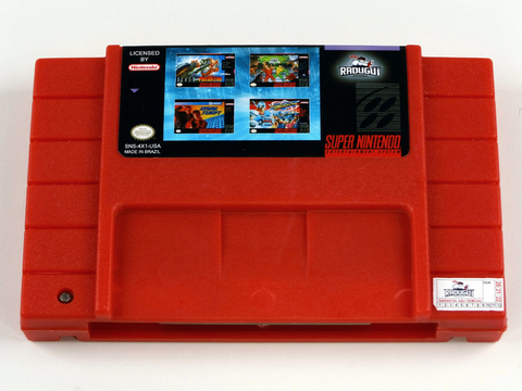 Cartucho 4 Em 1 Beat Em Up Vol 2 Super Nintendo Snes