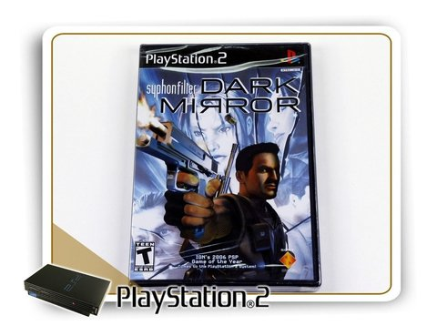 Syphon Filter Dark Mirror Original Playstation 2 Ps2