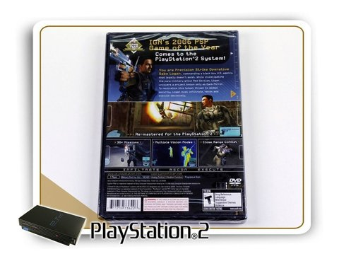 Syphon Filter Dark Mirror Original Playstation 2 Ps2 - comprar online