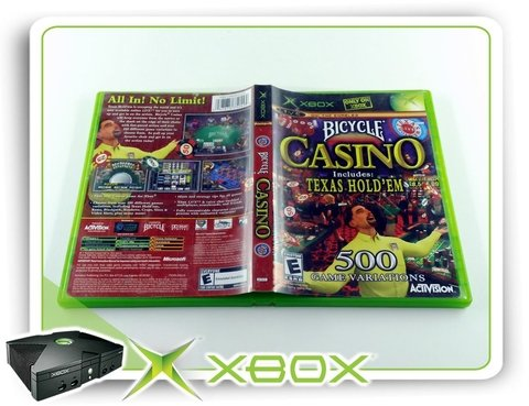 Bicycle Casino Original Xbox Clássico Ntsc na internet