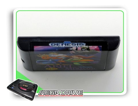 Ariel The Little Mermaid Sega Mega Drive / Genesis -genérico - comprar online