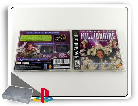 Ps1 Who Wants Be A Millionaire 2nd Ed. Orig. Playstation 1 - comprar online