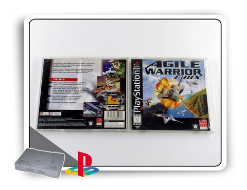 Agile Warrior F-iiix Original Playstation 1 Ps1 na internet