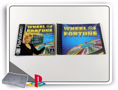 Encarte E Manual Wheel Of Fortune Original Playstation 1 - comprar online