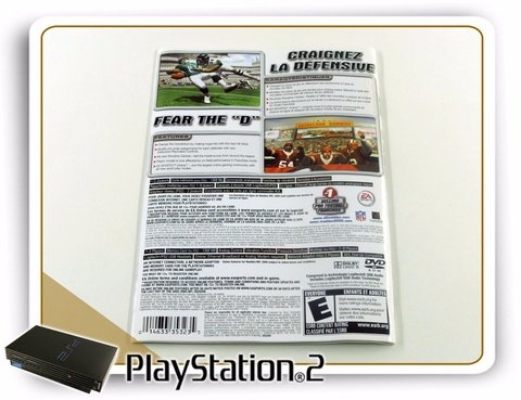 Encarte E Manual Madden Nfl 2005 Original Playstation 2 Ps2 - comprar online