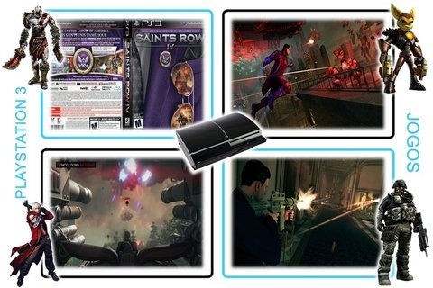 Saints Row 4 Commander In Chief Edition Playstation 3 Ps3 - loja online