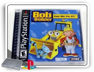 Bob The Builder Can We Fix It Original Playstation 1 Ps1