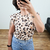 Blusa Muscle Tee Animal Print I na internet