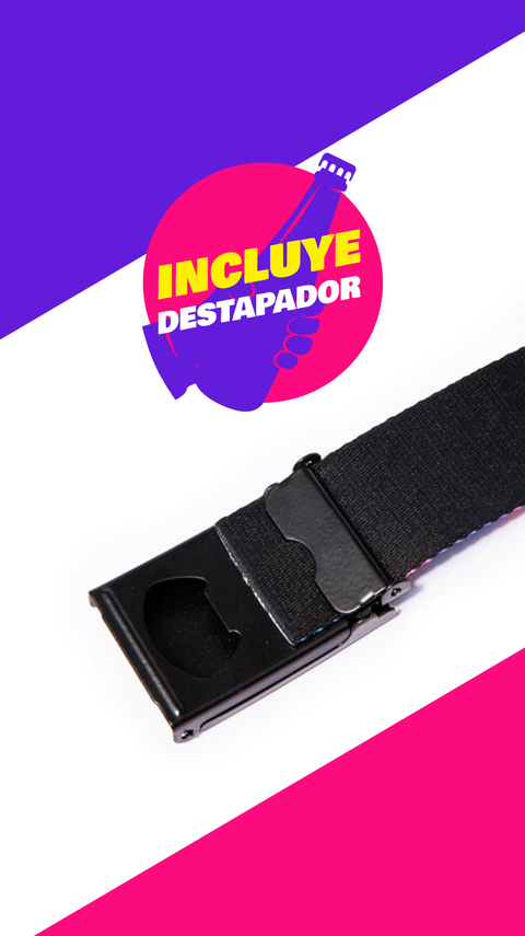 "Cool Belt ""Flower"" (Con Destapador) - comprar online"
