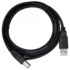 Cabo USB para Impressora 2.0 AM x BM 1.80m PC-USB1801