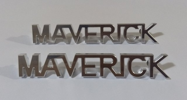 Imagem do EMBLEMA BILLITS  PARALAMA FORD MAVERICK