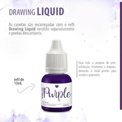 Drawing Liquid Purple