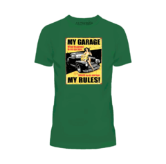 Camiseta My Garage My Rules - loja online