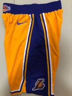 Bermuda Los Angeles Lakers Home Short Nba 2018 Nike Basquete - Rocha Madrid Sports