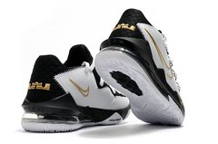 Tênis Nike LeBron 17 Low Metallic Gold Sheriff na internet