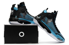Tênis Air Jordan 34 Black Blue White - comprar online
