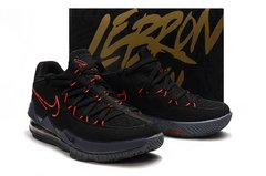 Tênis Nike LeBron 17 Low Black Red - Rocha Madrid Sports