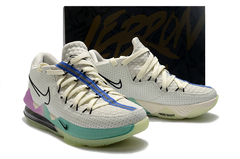 Tênis Nike LeBron 17 Low Glow In The Dark - loja online