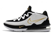 Tênis Nike LeBron 17 Low Metallic Gold Sheriff