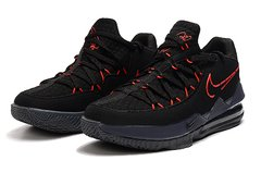 Imagem do Tênis Nike LeBron 17 Low Black Red