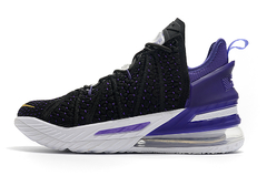 Tênis Nike LeBron 18 Lakers