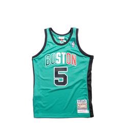 Boston Celtics - Italy Version - Mitchell and Ness - GARNETT #5