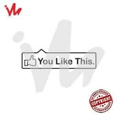 Adesivo You Like This - comprar online