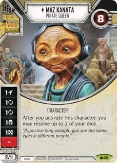 Maz Kanata - Pirate Queen / Rainha Pirata