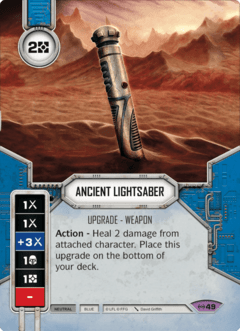 Ancient Lightsaber / Sabre de Luz Antigo