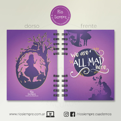 "Alice in Wonderland ""All Mad Here"" - comprar online"