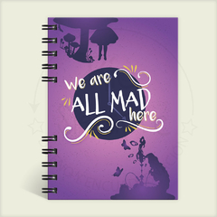 "Alice in Wonderland ""All Mad Here"""