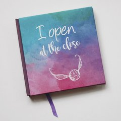 "Cuaderno Mini Cosido ""I open"" EN STOCK en internet"