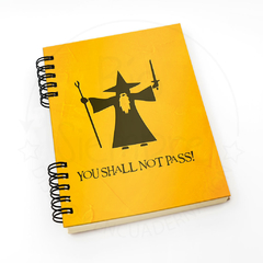 Cuaderno LOTR (You shall not pass)