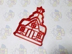 Cortante Casita Navidad x 10 cm - Cortantes Party