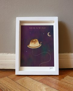 """Flan me to the moon"" - comprar online"
