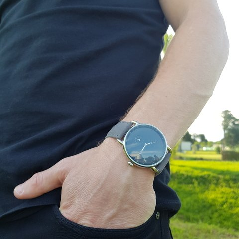 Fangio Deep Gray - HUNT Watches | Relojes HUNT