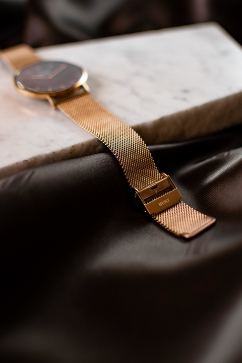 Lauda Rose Gold Mesh - HUNT Watches | Relojes HUNT