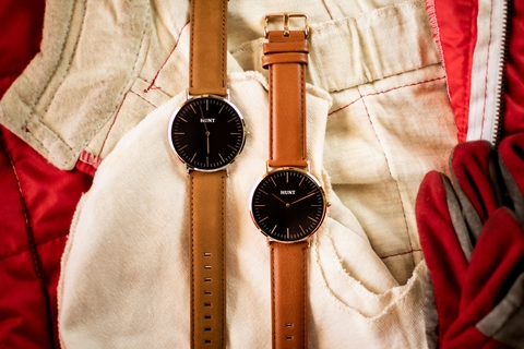 Lauda Suede Brown - HUNT Watches | Relojes HUNT