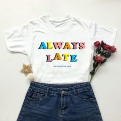Camisa Always Late - comprar online
