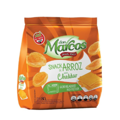 Promo X 10 Snacks de Arroz Saborizados Don Marcos