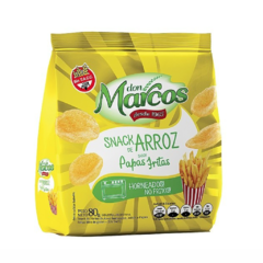 Promo X 10 Snacks de Arroz Saborizados Don Marcos - Natural Mente