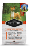 NUTRIQUE MEDIUM YOUNG ADULT DOG X350GR