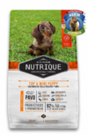 NUTRIQUE TOY AND MINI YOUNG ADULT DOG X350GR