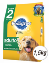 PEDIGREE VEGETALES 1.5KG