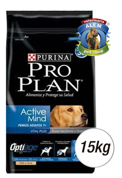 PRO PLAN ACTIVE MIND SENIOR +7 X15KG